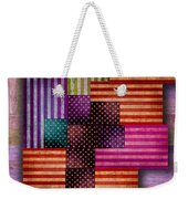 American Flags Weekender Tote Bag by Tony Rubino