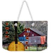 American Folk Music Weekender Tote Bag