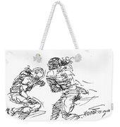 American Football 1 Weekender Tote Bag