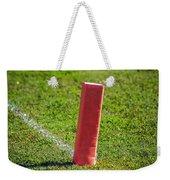 American Football Field Marker Weekender Tote Bag
