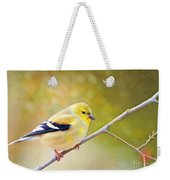 American Goldfinch - Digital Paint Weekender Tote Bag