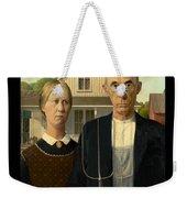 American Gothic Duvet Weekender Tote Bag