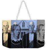 American Gothic In Colors Weekender Tote Bag