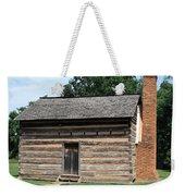 American Log Cabin Weekender Tote Bag by Frank Romeo