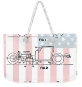 American Made Corvette Patent Weekender Tote Bag