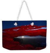 American Moonrise Weekender Tote Bag