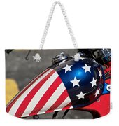 American Motorcycle Weekender Tote Bag