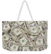 American One Dollar Bills Weekender Tote Bag