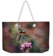 American Painted Lady Butterfly 2014 Weekender Tote Bag