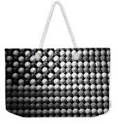 American Pastime In Black And White Weekender Tote Bag