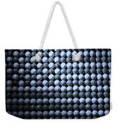 American Pastime In Cyan Weekender Tote Bag