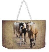 American Quarter Horse Herd Weekender Tote Bag