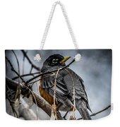 American Robin 2 Weekender Tote Bag