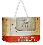 American Standard - Vintage Fuel Pump - Casper Wyoming Weekender Tote Bag