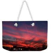 American Sunset Weekender Tote Bag