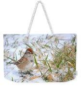 American Tree Sparrow Weekender Tote Bag