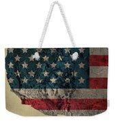 American West Topography Map Weekender Tote Bag