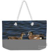 American Widgeon Pair Weekender Tote Bag