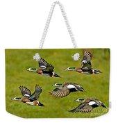 American Wigeon Drakes Weekender Tote Bag