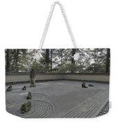 American Zen Rock And Raked Gravel Garden - Portland Oregon Weekender Tote Bag