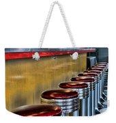 Americana - 1950's Diner Weekender Tote Bag