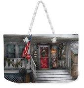 Americana - A Tribute To Rockwell - Westfield Nj Weekender Tote Bag