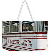 Americana Classic Dinner Booth Service Weekender Tote Bag
