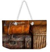 Americana - Emotional Baggage  Weekender Tote Bag by Mike Savad