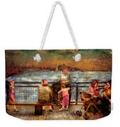 Americana - People - Jewish Families Weekender Tote Bag by Mike Savad