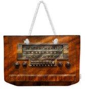 Americana - Radio - Remember What Radio Was Like Weekender Tote Bag