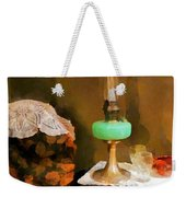 Americana - Still Life With Hurricane Lamp Weekender Tote Bag