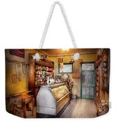 Americana - Store - At The Local Grocers Weekender Tote Bag