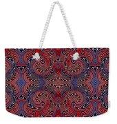 Americana Swirl Banner 3 Weekender Tote Bag