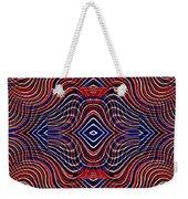 Americana Swirl Design 11 Weekender Tote Bag by Sarah Loft