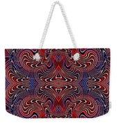 Americana Swirl Design 2 Weekender Tote Bag