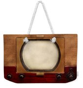 Americana - Tv - The Boob Tube Weekender Tote Bag by Mike Savad