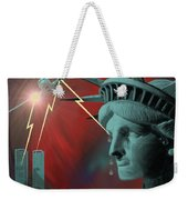 Americas Deepest  Wound  - 100 Weekender Tote Bag by Irmgard Schoendorf Welch