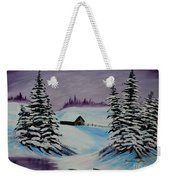 Amethyst Evening After Ross Weekender Tote Bag