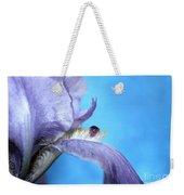 Amethyst Iris Weekender Tote Bag