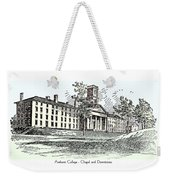 Amherst College - Chapel And Dormitories Weekender Tote Bag