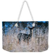 Amid The Frosty Wheat Weekender Tote Bag