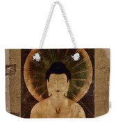 Amida Buddha Postcard Collage Weekender Tote Bag