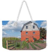 Amish Barn And Garden Weekender Tote Bag