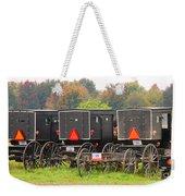 Amish Buggies 2 Weekender Tote Bag