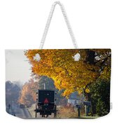 Amish Buggy Fall 2014 Weekender Tote Bag