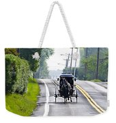 Amish Buggy In Lancaster County Pa. Weekender Tote Bag