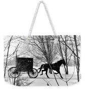 Amish Buggy Revised Weekender Tote Bag