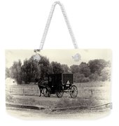 Amish Buggy Sept 2013 Weekender Tote Bag