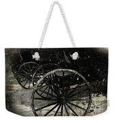 Amish Cart Wheels Grunge Weekender Tote Bag