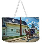 Amish Country Ride Weekender Tote Bag